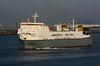 1999 to DATE - MELUSINE - Roro Cargo - 23987GRT/9729DWT - 162.5 x 25.6 - 1999 Kawasaki Zosensho, Sakaide, No.1486 - New Waterway, inward bound for Britanniehaven on the Calandkanaal, 22/04/09.