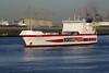 2002 to DATE - LOUISE RUSS - Cargo/RoRo - 18265GRT/8800DWT - 174.0 x 25.5 - 2000 JJ Sietas Schiffswerft, Hamburg, No.1145 as LOUISE RUSS (2000-01) - PORTO EXPRESS (2001) - Ernst Russ - New Waterway, inward bound for Britanniehaven, 23/04/09 - on charter to Cobelfret from 2002.