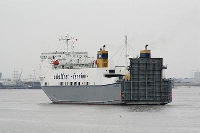 COBELFRET FERRIES (UK), Purfleet.