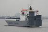 1990 to DATE - EGLANTINE - Roro Cargo - 10035GRT/7154DWT - 147.4 x 21.0 - 1990 Dalian Shipyard, China, No.R70/2 - inward bound from Zeebrugge to Purfleet, 21/10/09.
