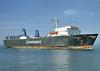 1991 to 1995 - NORMAN COMMODORE - Cargo/RoRo - 1585GRT/2670DWT - 108.3 x 21.0 - 1972 Ankerlokken MV, Floro, No.90 as ANU (1972-74) - NORCLIFF (1974), ANU (1974-80), LUNE BRIDGE (1980), LADY CATHARINE (1980-81), LAKESPAN ONTARIO (1981-83), SIR LAMORAK (1983-86), MERCHANT TRADER (1986-87), MOLS TRADER (1987), MADS MOLS (1987-89), PRIDE OF PORTSMOUTH (1989-91) - 1995 FJARDVAGEN (FIN) - still trading.
