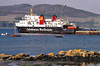 CMB - 1984 to DATE - ISLE OF ARRAN - Pass/RoRo - 3296GRT/666DWT - 84.9 x 16.2 - 1984 Ferguson Ailsa Shipbuilders, Port Glasgow, No.491 - 800 Passengers, 80 Cars - Ardrossan/Brodick service - still trading - seen here at Port Ellen, Islay.