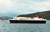 CMB - 1974 to 2012 - SUILVEN - Pass/RoRo - 1908GRT/1920DWT - 86.5 x 16.0 - 1974 Rosenberg Verft, Moss, No.180 - 408 passengers, 120 cars - new to Ullapool/Stornaway service - 2012 sold to Venu Shipping, Fiji.