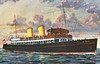 1945 to 1975 - ST TRILLO - Passenger - 314GRT - 45.5 x 8.3 - 1936 Fairfield Shipbuilding & Engineering Co., Govan, No.657 as ST SILIO (1936-45) - 1975 THRILLO - 04/75 broken up at Dublin. Posted August 5th, 1955.