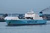 2005 to 2010 - MAERSK VLAARDINGEN - Roro Cargo - 22900GRT/14200DWT - 193.0 x 26.0 - 2000 Flensburger Schiffs, No.711 as UND AKDENIZ (2000-05) - 2010 AMILCAR (TUN) - outward bound from Vlaardingen on the New Waterway, 23/04/09.