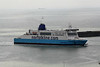2006 to 2010 - MAERSK DELFT - Pass/Roro - 36636GRT/6164DWT - 186.7 x 29.1 - 2006 Samsung Heavy Industries, Koje Island, No.1524 - 2010 DELFT SEAWAYS - entering Dover Harbour from Dunkerque, 28/07/10. I presume that it too changed name within a few days of this picture.