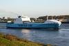 2005 to 2010 - MAERSK VLAARDINGEN - Roro Cargo - 22900GRT/14200DWT - 193.0 x 26.0 - 2000 Flensburger Schiffs, No.711 as UND AKDENIZ (2000-05) - 2010 AMILCAR (TUN) - inward bound for Vlaardingen on the New Waterway, 23/04/09.