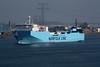 2000 to 2010 - MAERSK FLANDERS - Cargo/RoRo - 13073GRT/4650DWT - 142.5 x 23.5 - 2000 Gunagzhou International Shipyard, No.7130010 - 2010 FLANDRIA SEAWAYS (DMK) - New Waterway, outward bound from Vlaardingen to Felixstowe, 21/04/09.