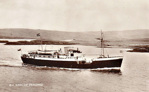 NORTH OF SCOTLAND, ORKNEY & SHETLAND SHIPPING CO,. Aberdeen.