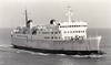 1967 to 1985 - LION - Pass/RoRo - 3333GRT/933DWT - 111.1 X 17.8 - 1967 Cammell Laird & Co., Birkenhead, No.1326 - 1985 BARONESS M, 1987 PORTELET, 1988 BARONESS M, 2001 ADINDA LESTARI 101 - 03/04 broken up at Chittagong - seen here in 06/78.