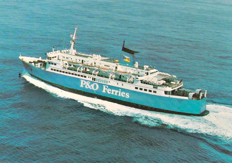 1978 to 1985 - NF TIGER - Pass/RoRo - 3961GRT/925DWT - 104/0 x 18.9 - 1971 Helsingor Vaerft, Elsinore, No.398 as KATTEGAT (1972-78) - 1985 TIGER, 1986 ALANDSFARJAN, 2008 EXPEDITION (LBR) - still trading.