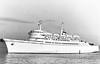 1967 to 1986 - DRAGON - Pass/RoRo - 6141GRT/2100DWT - 135.6 x 21.9 - 1967 Chantiers du Bretagne, Prairie-au-Duc, No.16108 - 1986 IONIC FERRY, 1992 VISCOUNTESS M, 1995 CHARM M, 1997 MEMED ABASHIDZE, 2000 MED, 2000 MILLENIUM EXPRESS II - 02/03/02 fire 20nm south of Zakynthos, Piraeus for Albania in ballast, 04/02 broken up at Aliaga.