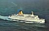 1973 to 1987 - PRINZ HAMLET - Pass/RoRo - 5829GRT/1127DWT - 118.7 x 18.6 - 1973 Werft Nobiskrug, Rendsburg, No.679 - 1987 PRINS HAMLET, 1988 STENA BALTICA, 1988 NIEBOROW, 2002 SVETI STEFAN II (BHS) - still trading,