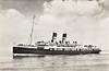 1922 to 1960 - MECKLENBURG - Passenger - 2907GRT - 106.8 x 13.0 - 1922 Royal Schelde Dockyard, Vlissingen, No.170 - 246 passengers - 05/60 broken up at Ghent.