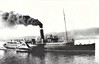 NBR - 1906 to 1941 - MARMION - Passenger - 403GRT - 64.0 x 7.3 - 1906 AJ Inglis & Co., Pointhouse, No.282 - services to Loch Long/Arrochar - 1915 to Royal Navy as Minesweeper MARMION II, based at Dover, 1918 returned to owners, 1923 to LNER, 09/39 to Royal Navy as Minesweeper, 09/04/41 sunk at anchor by German a/c in Harwich Harbour, 08/41 broken up at Grays.