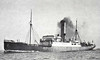 NER - 1908 to 1918 - KIRKHAM ABBEY - Pass/Cargo - 1162GRT - 77.8 x 10.3 - 1908 Earle's Shipbuilding Co., Hull, No.542 - 27/07/18 torpedoed and sunk off Winterton by UB40, Rotterdam for Hull, 8 dead.