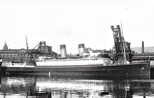 SHIPS OF THE LONDON, MIDLAND & SCOTTISH RAILWAY.