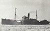 1931 to 1958 - AIRE - Cargo - 1107GRT - 73.3 x 10.4 - 1931 Cammell Laird & Co., Birkenhead, No.978 - new to Goole - Rotterdam service - 1940 Ammunition Replenishment Ship, Scapa Flow, 1945 returned to owners, 1948 to BTC - 05/10/58 inward bound Antwerp for Goole in collision with HELENE B SCHUPP (DEU/647/1897) and  beached at Saltmarshe Bight near Goole, 1 dead, total loss, broken up in situ.