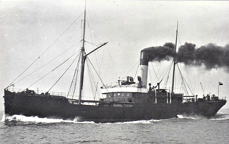 1900 to 1933 - NIDD - Cargo - 996GRT - 71.6 x 10.1 - 1900 W Dobson & Co., Walker-on-Tyne, No.112 - new to Goole/Antwerp service - 1914 to Royal Navy, 1919 returned to owners, 1922 to LNWR, 1923 to LMSR - 08/33 broken up at Mostyn.