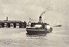 1927 to 1965 - MIMIE - Vehicle Ferry - 464GRT - 44.3 x 11.9 - 1927 Ferguson Bros., Shipbuilders, Port Glasgow, No.286 - 300 passengers, 36 cars - Tilbury/Gravesend service - 1961 vehicle service ceased - 05/65 broken up at Bruges - off Gravesend, 1962.