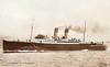 1929 to 1960 - VIENNA - Passenger - 4218GRT - 106.9 x 15.3 - 1929 John Brown & Co., Clydebank, No.527 - 548 passengers, cars on after deck - Harwich/Hook of Holland service - 1940 Cross Channel trooping, 1941 Depot Ship for MTB's, Mediterranean, 1945 MOWT trooper, Harwich/Hook - 09/60 broken up at Ghent.