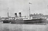 LNWR - 1900 to 1914 - HIBERNIA - Passenger - 1862GRT - 100.3 x 11.9 - 1900 W Denny & Bros, Dumbarton, No.618 - 993 passengers - Holyhead/Dublin service - 01/15 to Royal Navy as Armed Boarding Steamer TARA - 05/11/15 torpedoed near Sollum by U35, 91 survivors, towed in boats by U35 to captivity, held by Turks, 17/03/16 rescued by British military expedition.