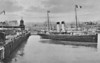 SECR - 1905 to 1920 - ONWARD - Passenger - 1671GRT - 94.9 x 12.2 - 1905 W Denny & Bros., Dumbarton, No.751 - 400 passengers - Folkestone/Boulogne service - 1914 to Royal Navy as Troopship, 24/09/18 scuttled at berth in Folkestone to put out fire started by saboteur, salvaged, reapired and sold in 1920 to IOMSPCo. as MONA'S QUEEN - 04/40 Armed Boarding Vessel, 05/40 Dunkirk, 3000 soldiers rescued,1946 returned to owners - 10/48 broken up at Milford Haven - posted July 13th, 1911.