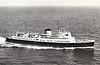 1953 to 1966 - LISIEUX - Passenger - 2943GRT/356DWT - 95.5 x 13.0 - 1953 Chantier de la Mediterranee, Le Havre - Weymouth/Jersey/St Malo service - 1966 APOLLON - 10/82 broken up at Eleusis.
