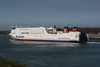2001 to 2010 - STENA HOLLANDICA - Pass/RoRo - 33769GRT/6155DWT - 188.3 x 29.3 - 2001 Astilleros Bazan, Puerto Real, No.81 - 2007 lengthened to 240.1, 44372GRT/10670DWT - 2010 STENA GERMANICA (SWE) - still trading - outward bound from the Hook for Harwich, 23/04/09.
