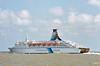 1991 - 2003 - PINCESS OF SCANDINAVIA - Pass/RoRo - 15673GRT/3335DWT - 182.4 x 23.6 - 1976 Flender Werft, Lubeck, No.608 as TOR SCANDINAVIA (1976-91) - WORLD WIDE EXPO (1982-83) - 1998 widened to 26.9, 22528GRT, 2006 MOBY OTTA (ITA) - still trading.