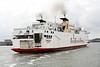 1999 to DATE - LARKSPUR - Pass/Roro - 5314GRT/3000DWT - 123.0 x 20.5 - 1976 Schiffs Schichau Unterweser, Bremerhaven, No.2269 as GEDSER (1976-86) - VIKING 2 (1986-88), SALLY SKY (1988-97), EUROTRAVELLER (1997-99) - 1990 lengthened 143.8m, 14558GRT/4150DWT - Ostende, entering port from Ramsgate, 26/07/10.