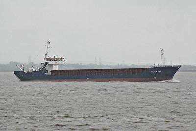 ARCTICA HAV (Nassau) - IMO8403571 - Cargo - BHS/1720/84 Schiffs Hugo Peters, Wewelsfleth, No.581 - 82.5 x 11.4 - Bulkship Shipping, Oslo - Paull, inward bound from Helsingborg for Albert Dock, 08/05/14.