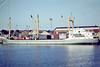 ANTARES (Delfzijl) - IMO6614279 - Cargo - 1303GRT/2256DWT - 73.6 x 11.6 - 1966 Schiffs Schurenstedt, Bardenfleth, No.1310 - J&D Damhof - Ipswich 1980 - 2010 converted to livestock carrier named EZADEEN (SLE) - still trading.