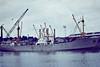 ASHANTI (Takoradi) - IMO5146720 - Cargo - 1373GRT/2229DWT - 93.4 x 12.4 - 1957 Werft Nobiskrug, Rendsburg, No.598 as HELGA RUSS (1957-70) - Tema Shipping Co. - LEIDSEGRACHT (1970-73), GULF IPSWICH (1973-77) MOON (1977) - Cliff Quay, 1980 - 09/83 broken up at Hendrik-Ido-Ambacht.