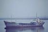 AUTHORITY (London) - IMO6622226 - Tanker - 500GRT/1020DWT - 65.4 x 9.9 - 1967 Scheeps Nieuwe Noord Nederlandsche, Groningen, No.351 - FT Everard & Co. - 11/09 broken up at Aliaga - anchored off Cliff Quay, 10/82.