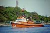 ARGO (Gdansk) - IMO8102953 - Tug - POL/175/81 Stocznia Dabrowszczakow, Gdynia, H2500/8 - 35.7 x 9.4 - WUZ Gdansk - Gdansk, heading seawards to collect a tow, 11/05/08.