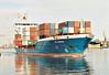 BCL IWONA (St Johns) - IMO9336294 - Containership - ATG/8200/06 Yangfan Shipyards, Zhoushan, No.2032 - 132.6 x 19.2 - Sibum Shipping, Haren Ems - 2010 KATHARINA SIBUM, 2011 LOUISE BORCHARD (ATG) - still trading - Gdynia, outward bound, 08/06/08.