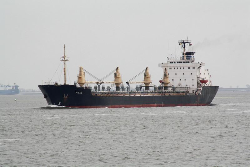 ALEXIS (Nassau) - IMO8107593 - Bulk Carrier - BHS/27048/84 Astilleros Espanoles, Olaveaga, No.352 - 182.8 x 23.0 - Tomasos Brothers, Piraeus - Tereneuzen, outward bound from Antwerp, 16/04/10 - 11/13 broken up.
