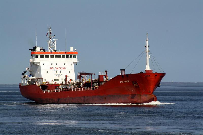 ALFATEM (Valletta) - IMO9207194 - Tanker - MLT/6753/00 Dearsan Gemi Shipyard, Tuzla, No.17 - 114.0 x 14.9 - Chemmariner Shipping, Istanbul - Terneuzen, inbound for Zelzate, 21/04/10.