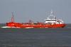 ALCEDO (Dordrecht) - IMO9190315 - Tanker - NLD/2831/99 Scheeps Breko, Papendrecht, No.9802 - 90.0 x 12.3 - Essberger Tankers - Terneuzen, outward bound from Antwerp, 27/04/09.