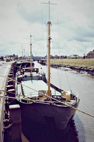 ROYE (Panama) - IMO5131220 - Cargo - PAN/470/61 Schiffs Alfred Hagelstein, Travemunde, No.604 - 47.1 x 8.4 - Windward Passage Shipping Co. - still trading as SV NIKOLA (HRV) - Wisbech, 06/81.