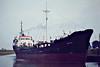 WILGO (Hull) - IMO5230296 - Cargo - GBR/1118/62 Scheeps Westrerbroek, No.170 - 57.8 x 10.6 - Wilship Marine Services, Hull - 10/85 broken up in Zumaya - Wisbech, about to swing, to load grain, 08/82.