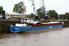 RMS LIBAVA (Belize City) - IMO8324696 - BLZ/1566/83 Schiffs Hermann Suurken, Papenburg, No.323 - 75.5 x 10.6 - Rhein Maas & See Schiffs - Port Sutton Bridge, unloading steel, 05/10/10.