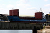 WILSON GRIMSBY (Bridgetown) - IMO9056040 - BRB/3650/93 Slovenske Lodenice, Komarno, No.2918 - 87.7 x 12.8 - Wilson Shipping - Kings Lynn, loading grain in Alexandra Dock, 02/08/11.