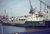 SEA RHINE (Singapore) - IMO7622091 - Cargo - SGP/2269/78 Kanrei Zosensho, Tokushima, No.245 - 69.0 x 13.5 - Freight Express Seacon - 25/12/06 sank in the Ionian Sea - Boston, to unload steel, 01/82.
