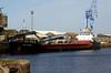 SEA MITHRIL (Hull) - IMO9006435 - Cargo - GBR/2220/92 Yorkshire Drydock Co., Hull, No.326 - 77.8 x 11.1 - Torbulk Shipping, Grimsby - Kings Lynn, loading grain in Bentinck Dock, 05/10/2010.