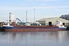 STINA G (St Johns) - IMO9387310 - Cargo - ATG/3850/08 Scheeps Damen, Bergum, No.9389 - 88.6 x 12.5 - Gerdes Bereederungs - Kings Lynn, unloading soya meal from Aveiro, 05/03/14.
