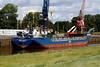 RMS LAAR (St Johns) - IMO8508400 - ATG/2304/85 Schiffs Hugo Peters, Wewelsfleth, No.611 - 82.5 x 11.4 - Rhein Maas & See Schiffs - Port Sutton Bridge, unloading steel, 15/08/11.