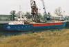 SAMIRA (Heerhugowaard) - IMO9240744 - Cargo - NLD/1700/04 Leda Shipyard, Korcula - 80.0 x 10.4 - Toucan Maritime - Port Sutton Bridge, unloading feretiliser, 21/12/07.