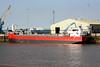 ADAMAS (Delfzijl) - IMO9489558 - Cargo - NLD/3750/10 Scheeps Peters, Kampen - 82.5 x 12.5 - Wagenborg BV - Kings Lynn, unloading fertiliser on Alexandra Quay, 29/06/10.